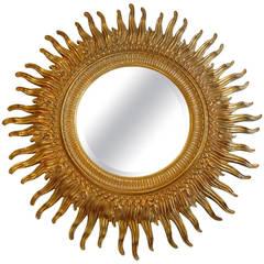 Gilt Sunburst Mirror