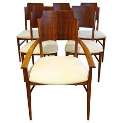"Six Paul McCobb ""Delineator"" Series Dining Chairs"