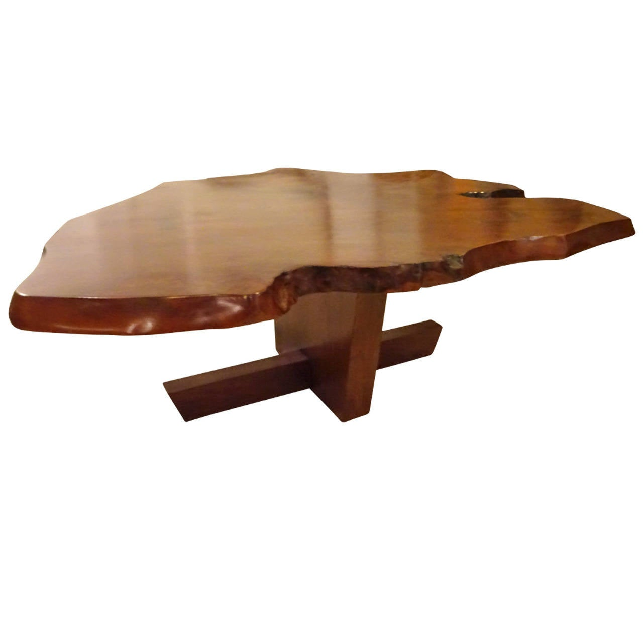 Nakashima style coffee table at 1stdibs nakashima style coffee table 1 geotapseo Gallery