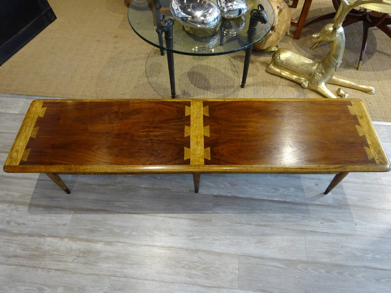 Extra Long Lane Dovetail Coffee Table 2