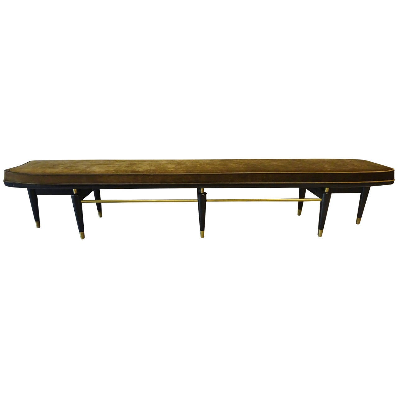 Extra Long Italian Modern Bench At 1stdibs