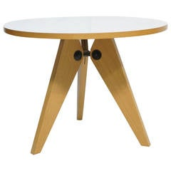 Jean Prouve Gueridon Table by Vitra