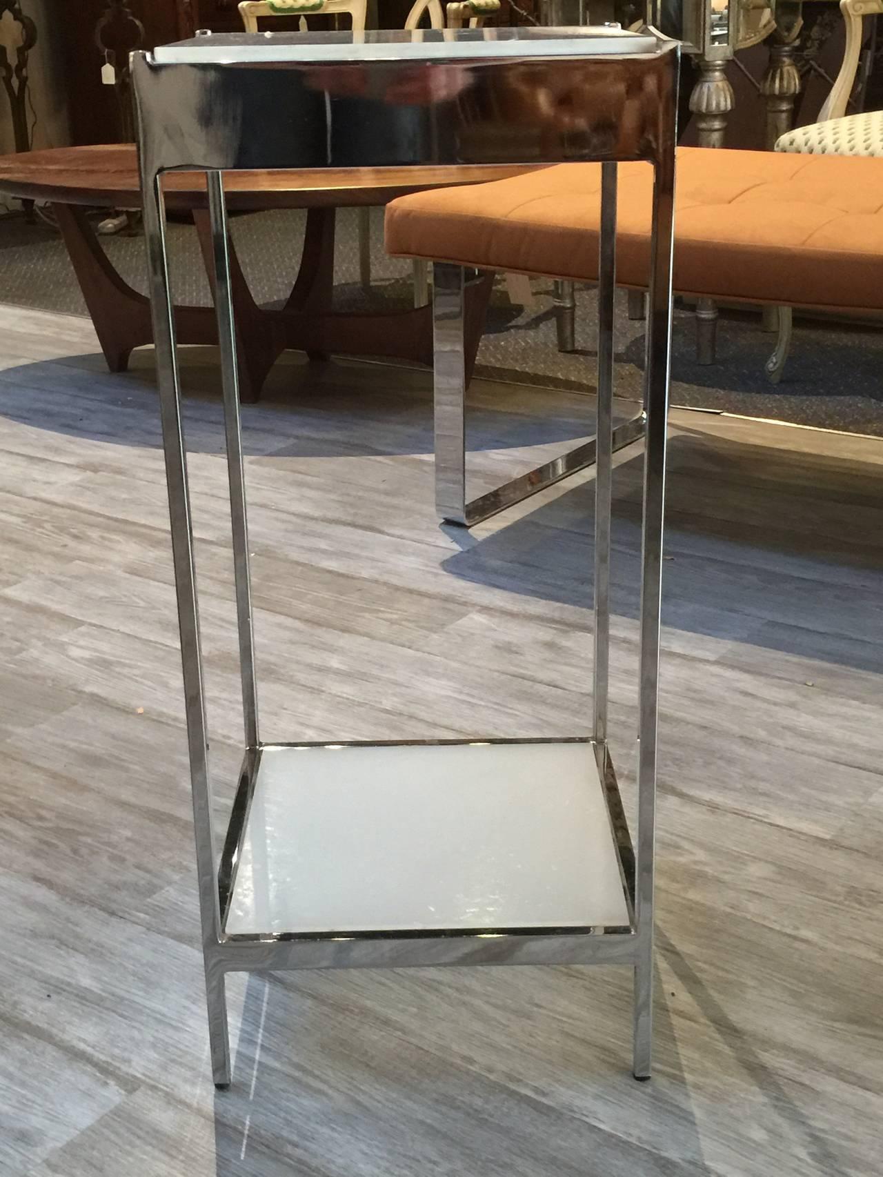 Milo Baughman Style Pedestal 7