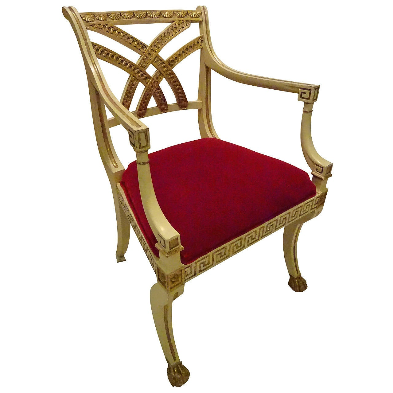 Regency Style Armchair For Sale At 1stdibs