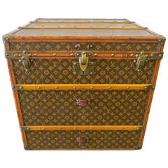 Louis Vuitton Monogram Canvas Cube Trunk in Amazing Condition