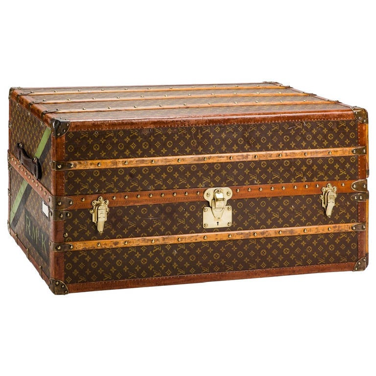 Louis Vuitton Monogram Wardrobe Trunk At 1stdibs