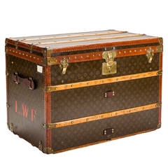 Louis Vuitton Monogram Canvas Boot, Shoe, or Hat Trunk