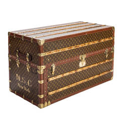 Louis Vuitton Monogram Canvas Double Wardrobe Trunk