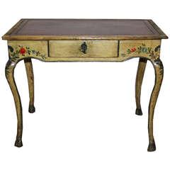 18th Century Italian Polychrome Side Table