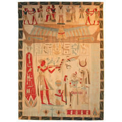 Large Egyptian Revival Wall Hanging