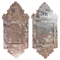 Pair of 18th Century Venetian Mirrors
