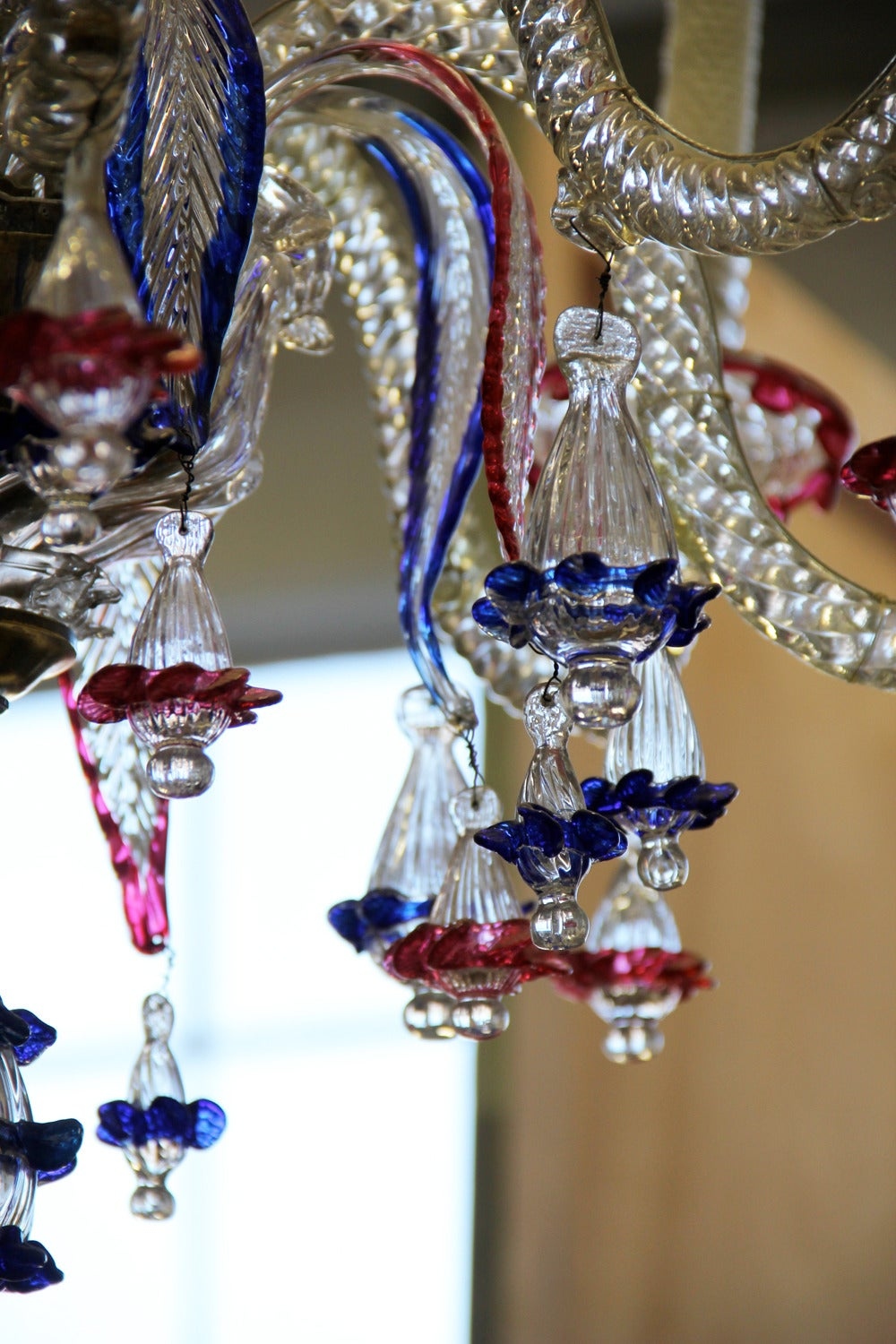 19th century murano blown glass chandelier for sale at 1stdibs Blown glass chandelier