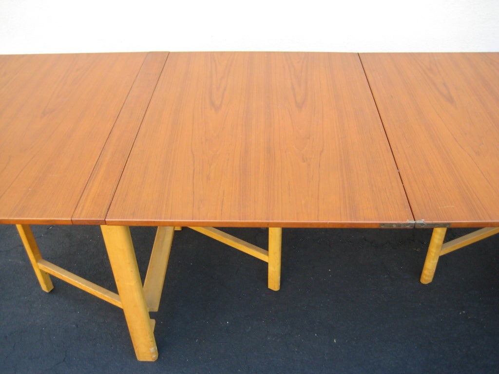 Original Bruno Mathsson Sweden quotMariaquot Gate leg Drop  : 921313509384534 from 1stdibs.com size 1024 x 768 jpeg 85kB