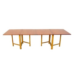 "Original Bruno Mathsson,  Sweden ""Maria"" Gate leg / Drop Leaf Table 1936"