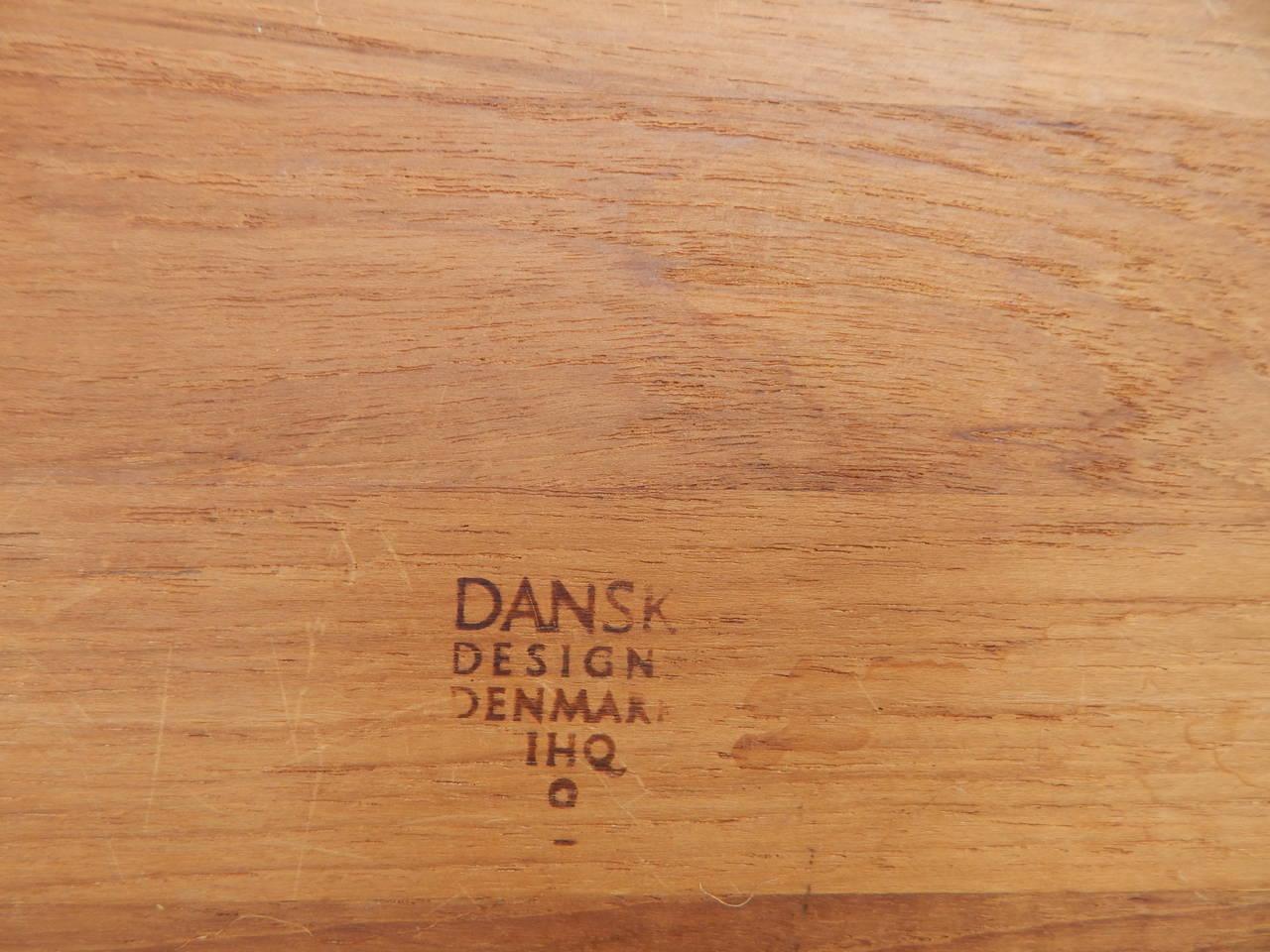 Danish Jens Quistgaard for Dansk Teak Serving Tray For Sale
