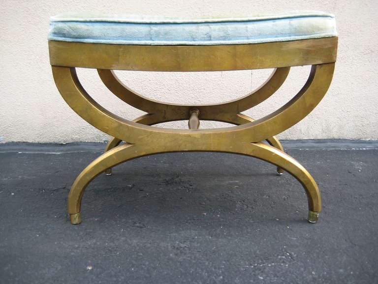 Gilded Bench Gilded Wood Bench At 1stdibs