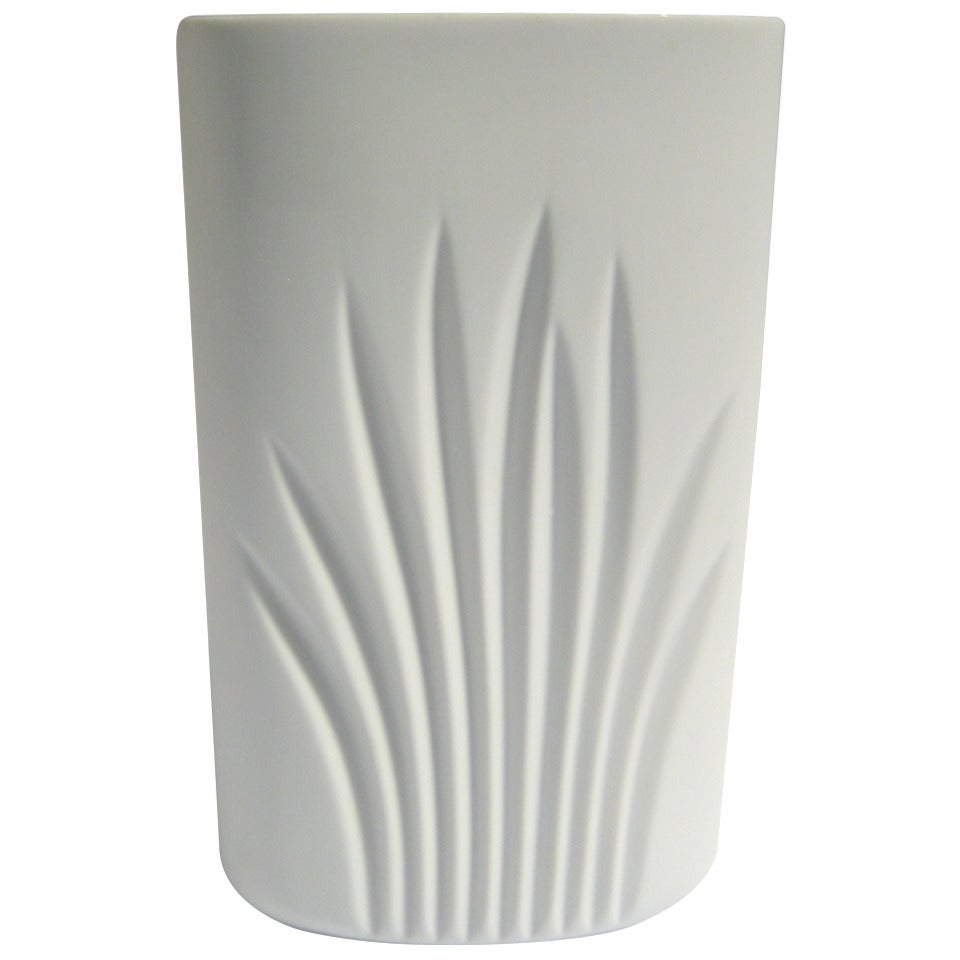 Rosenthal Vase, Germany Porcelain Mid Century