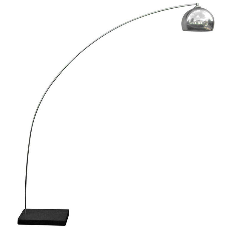 Tall arch floor lamp at 1stdibs for 7 foot tall floor lamp