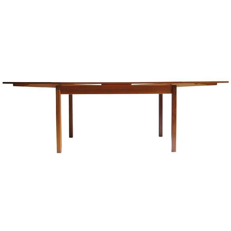 this mid century danish teak dining table is no longer available