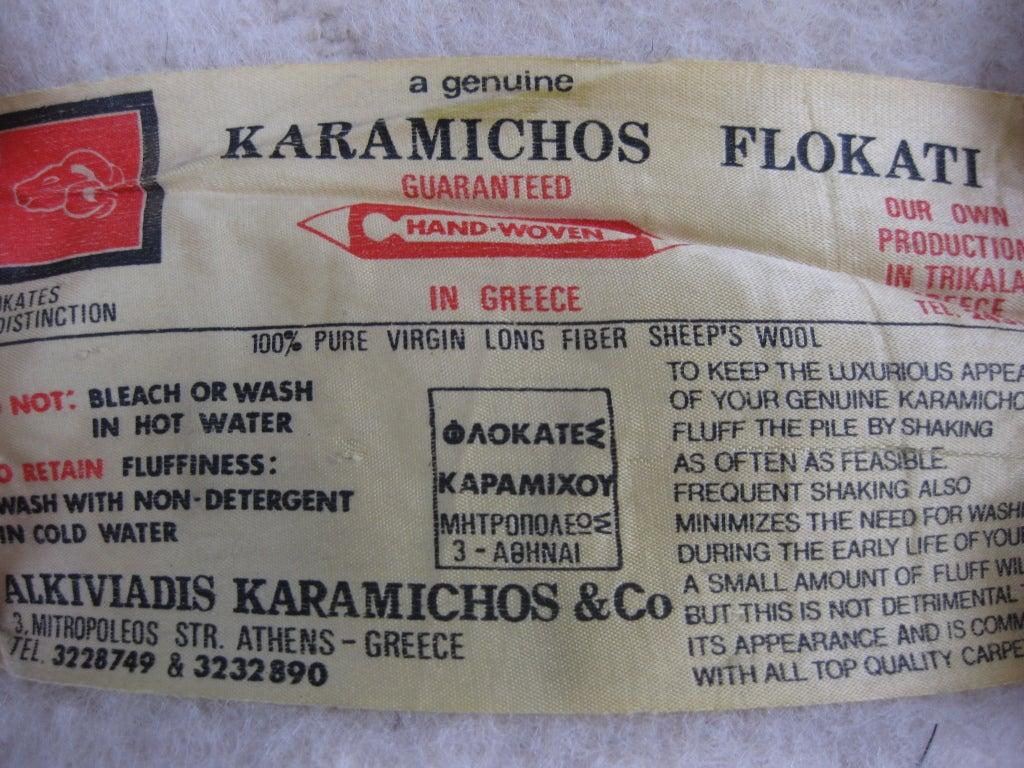 1960s Flokati Rug, Greece image 9
