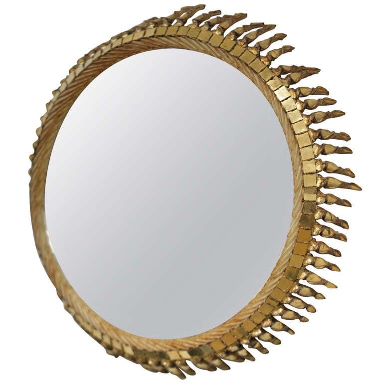 Line vautrin exceptional mirror at 1stdibs for Miroir line vautrin