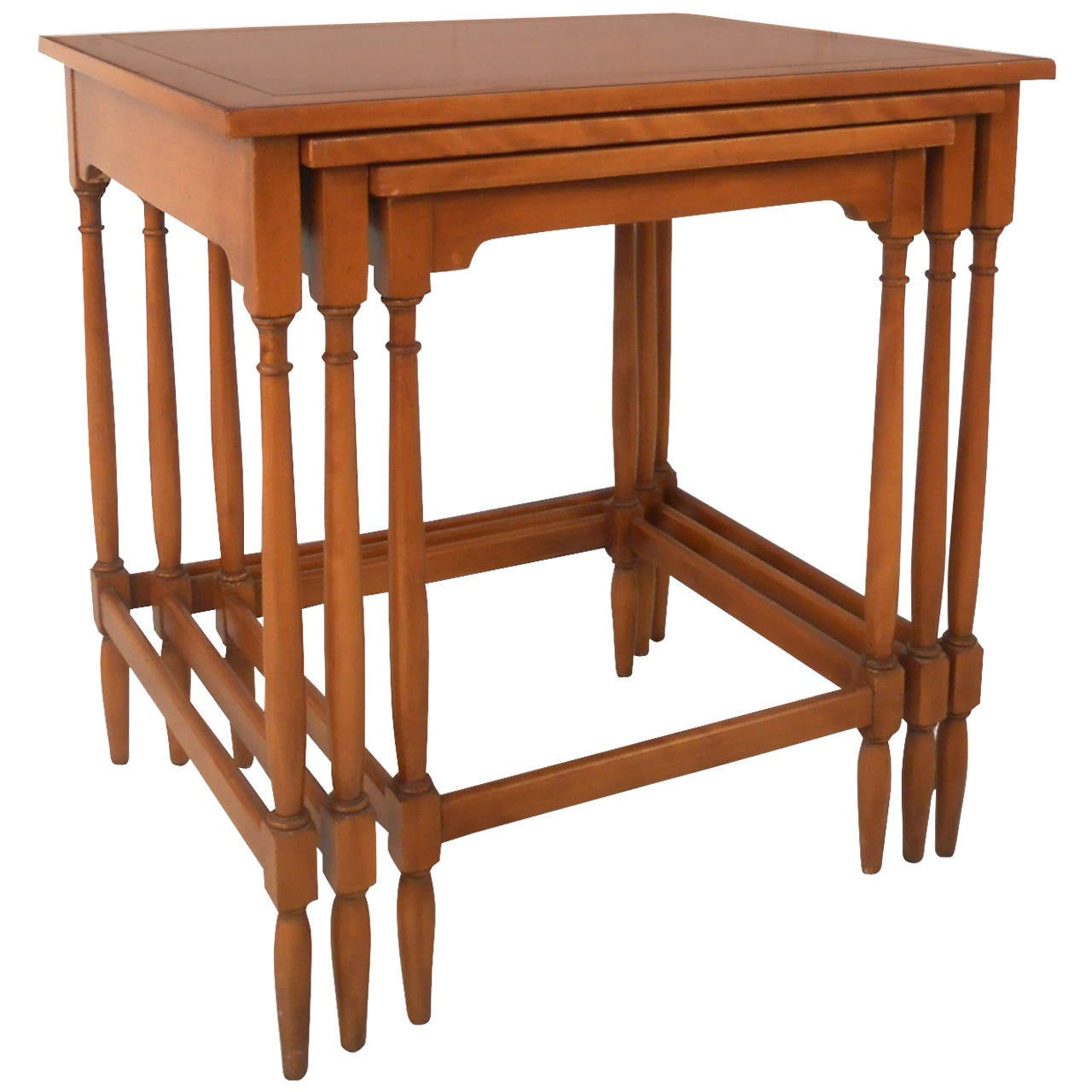 Set of Three Nesting Tables by Hekman