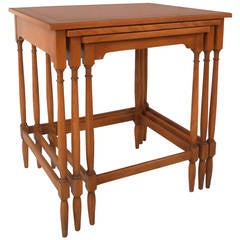 set of three nesting tables by hekman - Hekman Furniture