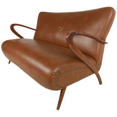Paolo Buffa Style Sofa