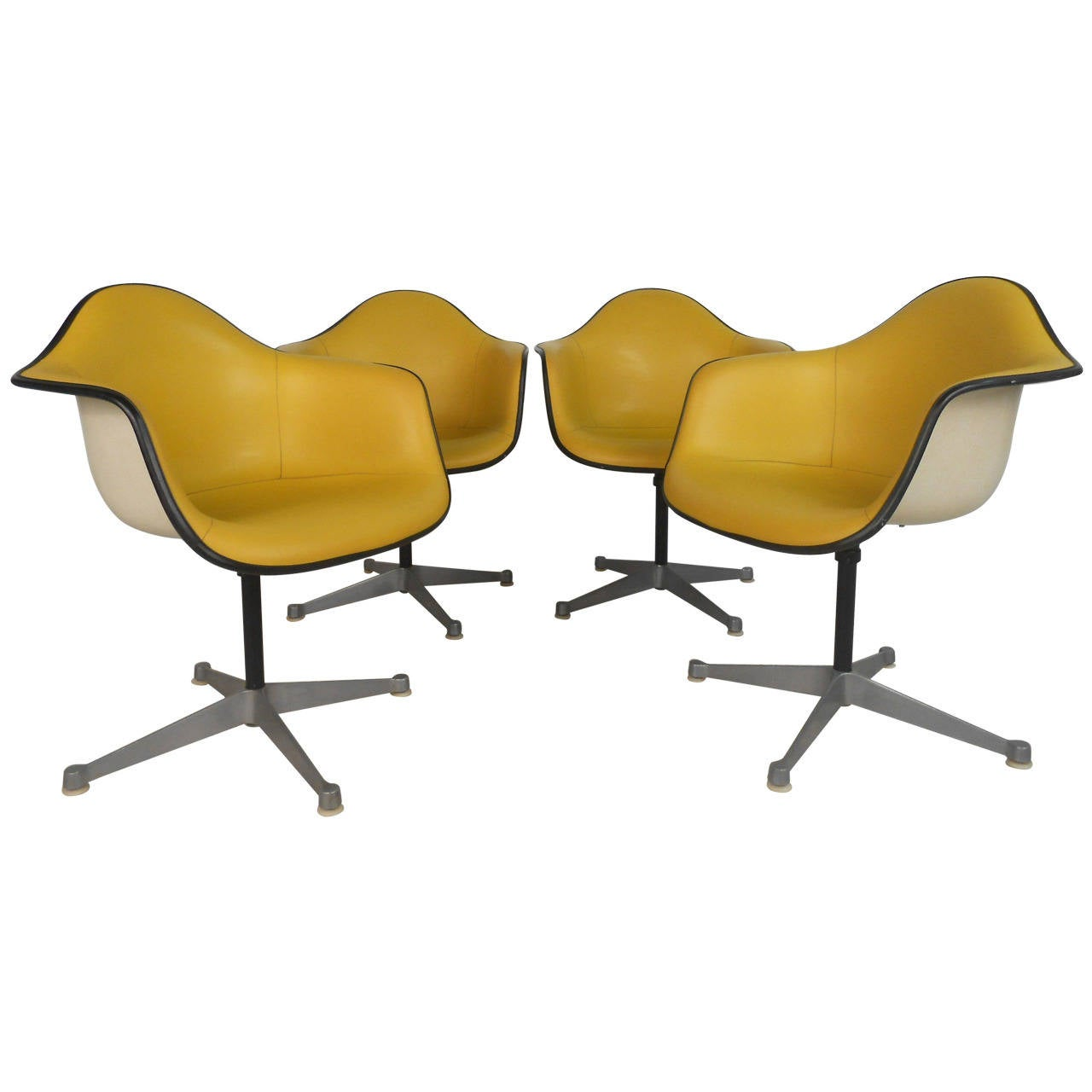 Charles eames for herman miller bucket chairs at 1stdibs - Herman miller bucket chair ...