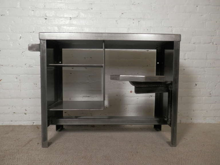 Unique Heavy Duty Metal Desk At 1stdibs