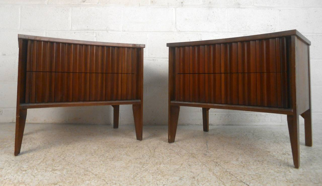 Mid century modern curved front nightstands by unagusta 3