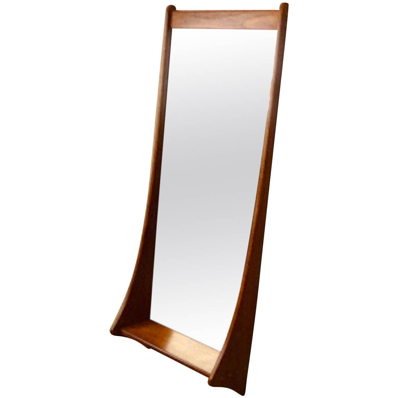 Mid century danish mirror by pedersen and hansen at 1stdibs for Mirror o mirror