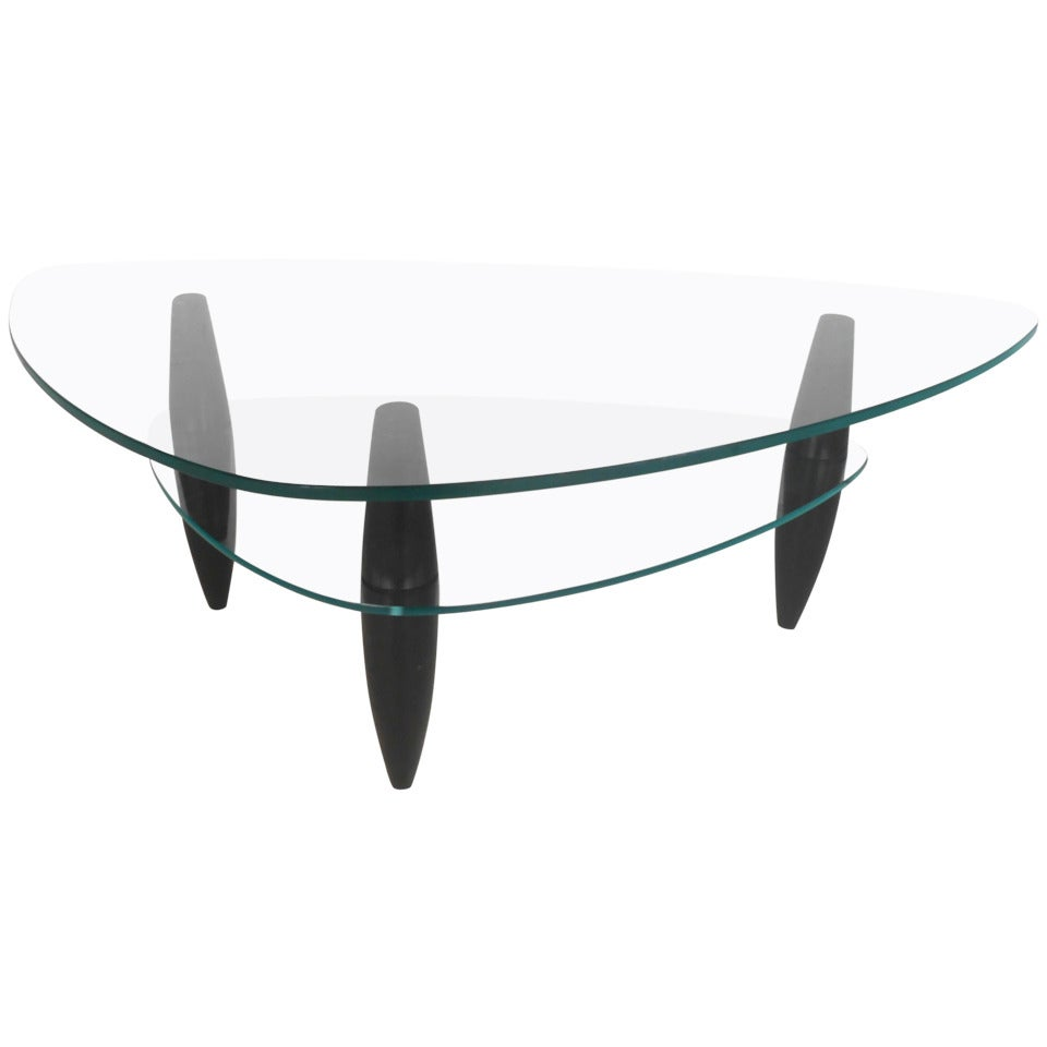 Modern Two-Tier Coffee Table