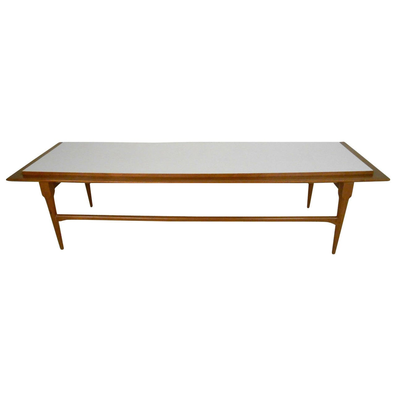 Mid century modern long coffee table for sale at 1stdibs for Modern coffee table