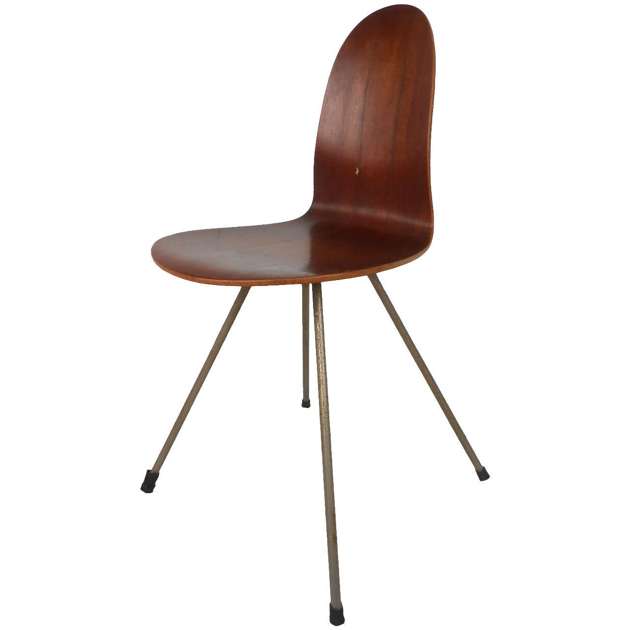 Single bentwood chair by illums bolighus for sale at 1stdibs