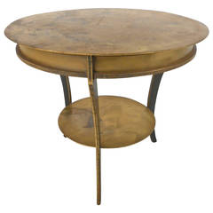 Hollywood Regency Style Table In The Manner Of Mastercraft