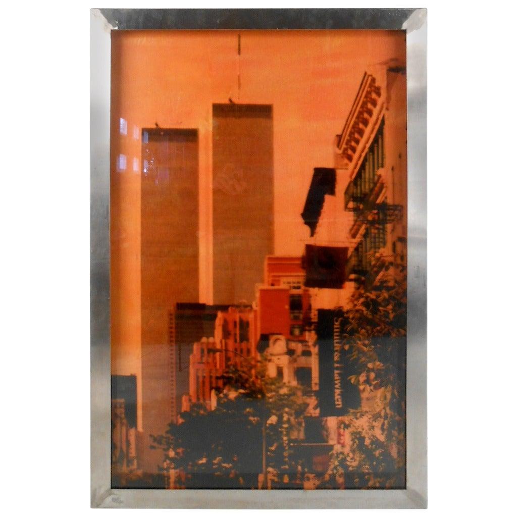 World Trade Center Framed Print by Isack Kousnsky