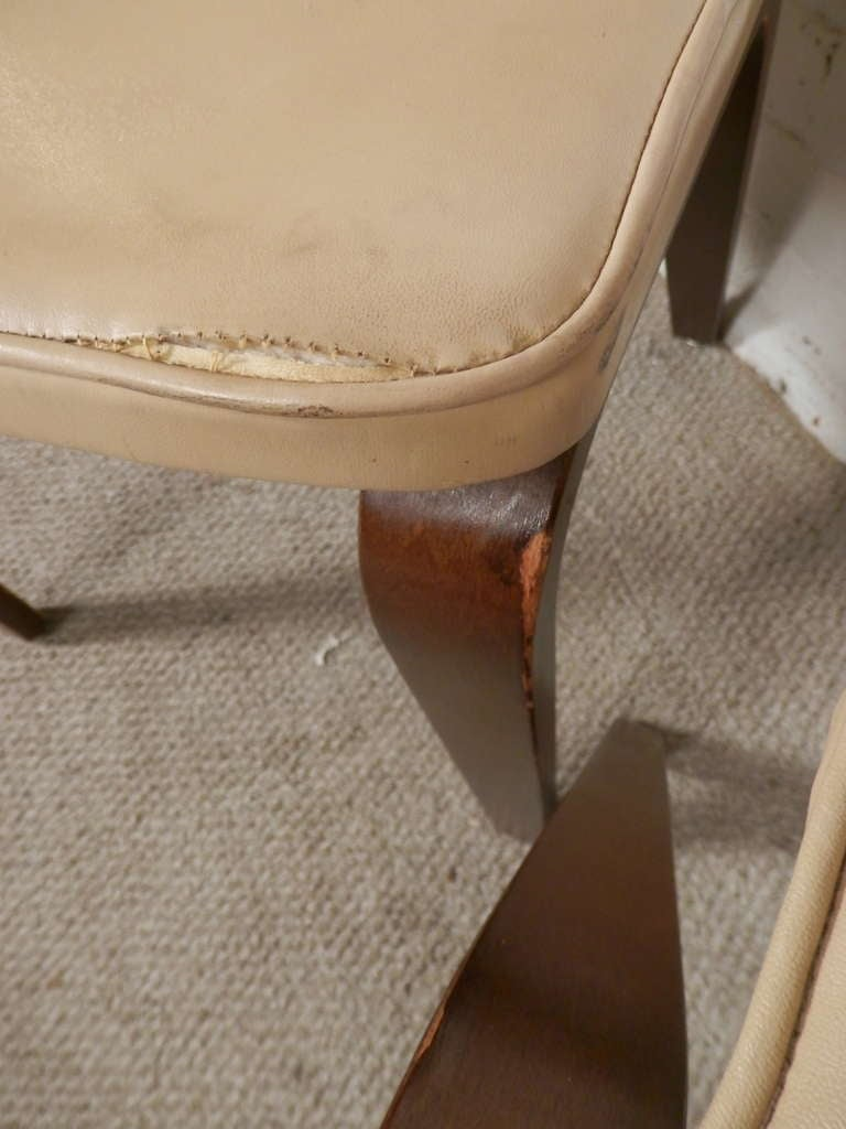 American Set Of Four Chairs By Thonet For Sale