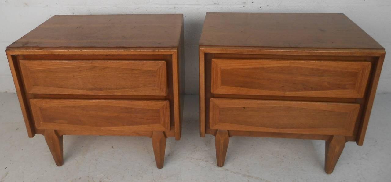 american of martinsville nightstands for sale at 1stdibs martinsville bedroom furniture 1960s trend home design