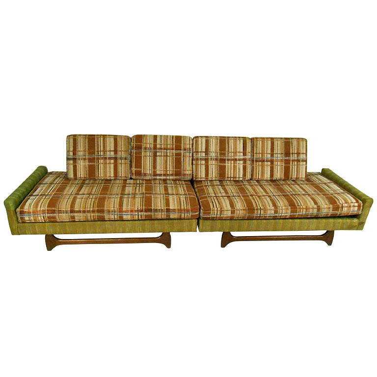 Mid-Century Modern Adrian Pearsall Style Sectional Sofa