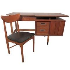 Mid Century Modern Desk w/ Chair