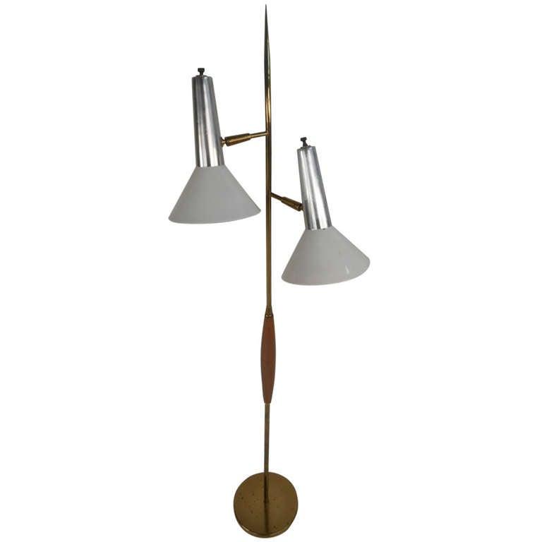 Mid Century Floor Lamp For Sale At 1stdibs
