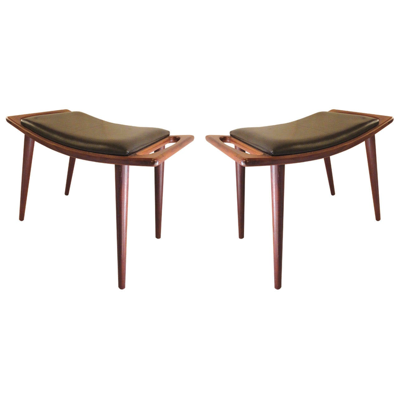 hans wegner mid century modern stool at 1stdibs. Black Bedroom Furniture Sets. Home Design Ideas