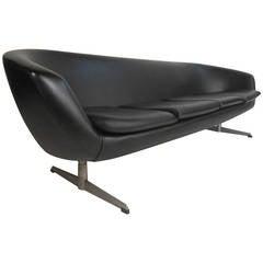 Mid-Century Modern Overman Pod Four Seat Sofa