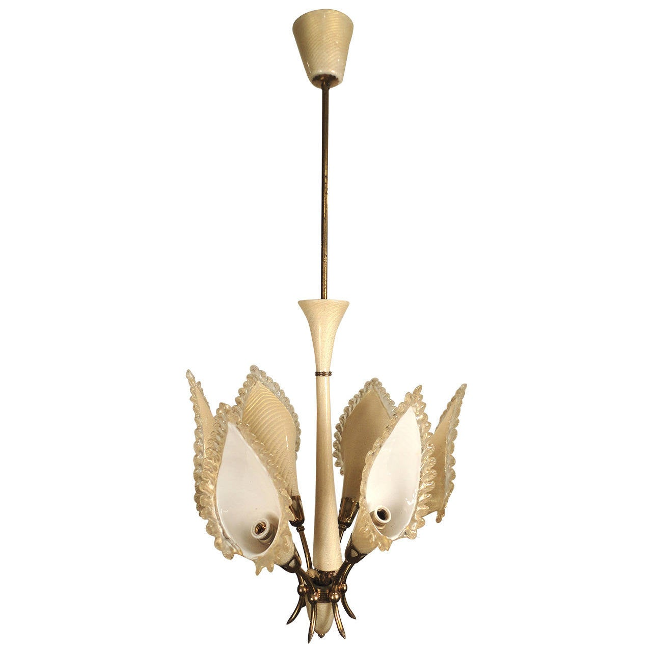mid century modern murano glass chandelier for sale at 1stdibs. Black Bedroom Furniture Sets. Home Design Ideas