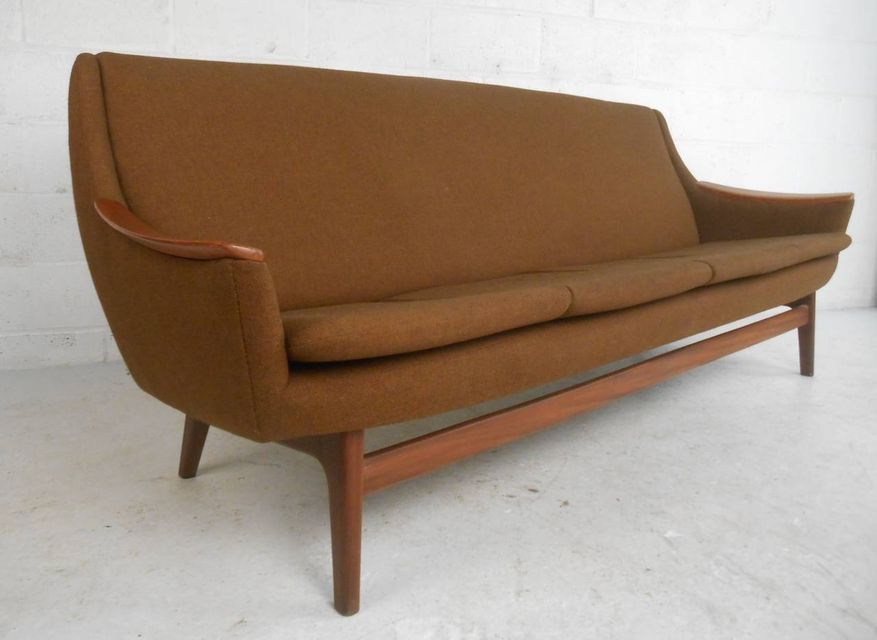 long scandinavian modern sofa for sale at stdibs - long scandinavian modern sofa