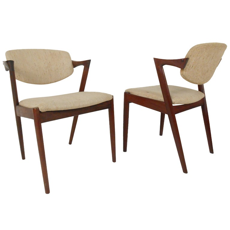 kai kristiansen flap back chairs at 1stdibs