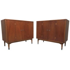 Pair of Lane Two-Door Cabinets