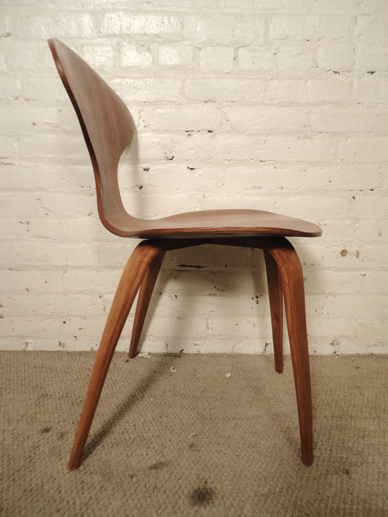Six Cherner Chairs For Plycraft In Good Condition For Sale In Brooklyn, NY
