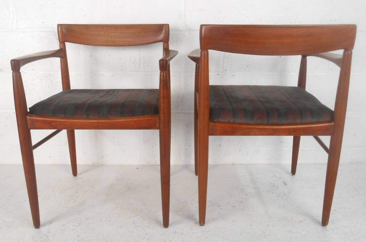 set of mid century modern moller style dining chairs at 1stdibs